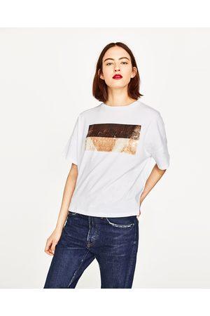 Shirt Coloris À Paillettes Disponible D'autres En T 3j4Lqc5RA