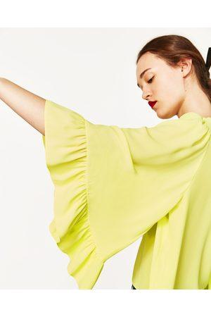 Femme Kimonos - Zara TOP À MANCHES KIMONO - Disponible en d'autres coloris