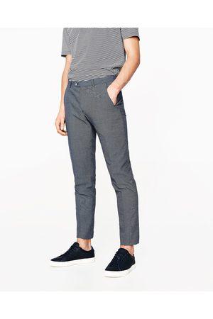 costume zara bleu marine homme pantalons zara pantalon de. Black Bedroom Furniture Sets. Home Design Ideas