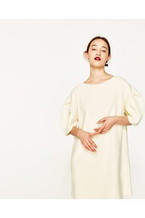 Femme Robes - Zara ROBE À MANCHES COURTES BOUFFANTES - Disponible en d'autres coloris