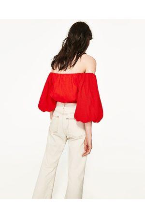 Femme Tops & T-shirts - Zara TOP MANCHES BOUFFANTES