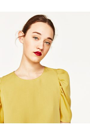 Femme Tops & T-shirts - Zara TOP AVEC MANCHES BOUFFANTES