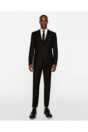 Homme Pantalons classiques - Zara PANTALON DE COSTUME EN LAINE