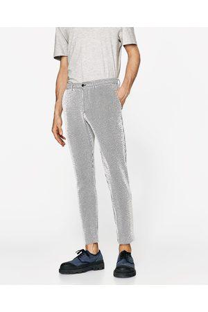 Homme Pantalons - Zara PANTALON DE COSTUME EN SEERSUCKER