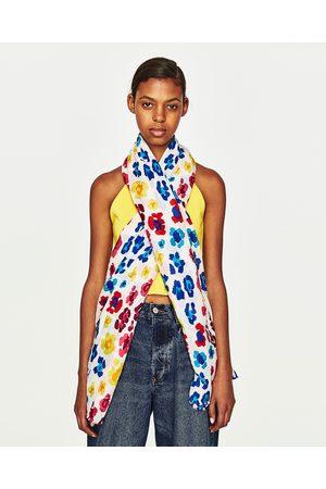 fab90556f17 Zara FOULARD À IMPRIMÉ ANIMAL - Disponible en d autres coloris
