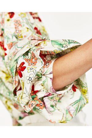 Femme Casual - Zara CHEMISE IMPRIMÉE FLEURS