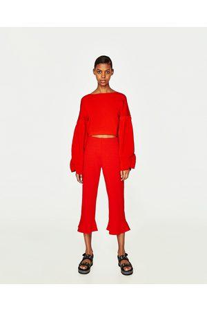 Achetez Et Jeans Zara Volant Comparez Pantalonsamp; Femme 0w8mNn