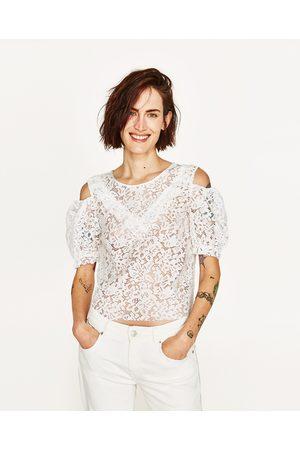 epaules ajourees tops t shirts femme comparez et achetez. Black Bedroom Furniture Sets. Home Design Ideas