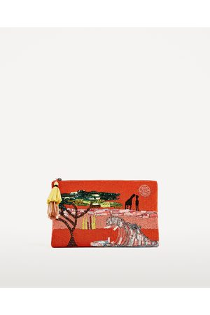 Femme Sacs & Valises - Zara SAC ENVELOPPE AVEC VERROTERIES