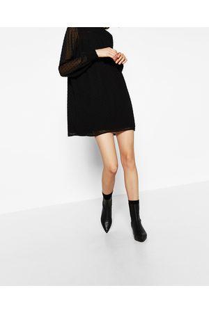 Femme Robes - Zara ROBE EN PLUMETIS