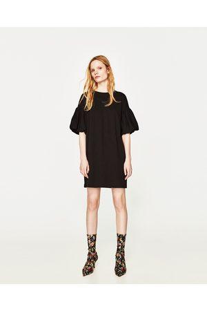 8a511c5c7ceb6 Bouffantes Achetez Comparez Robes Femme Zara Manches Et FKJ1Tlc