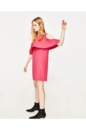 Femme Robes - Zara ROBE À ÉPAULES DÉNUDÉES - Disponible en d'autres coloris