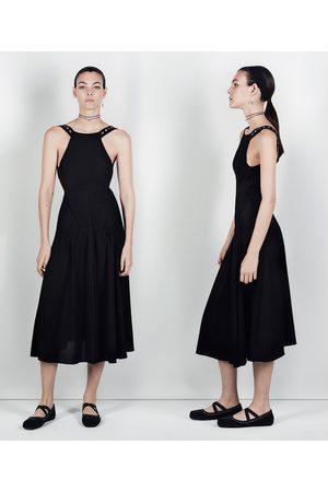 Femme Robes - Zara ROBE BRODÉE AVEC ANNEAUX STUDIO