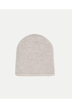 Femme Bonnets - Zara BONNET 100 % CACHEMIRE ÉDITION SPÉCIALE - Disponible en d'autres coloris