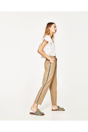 Femme Pantalons - Zara PANTALON AVEC RUBAN SUR LE CÔTÉ