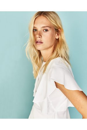 Femme Tops & T-shirts - Zara TOP À VOLANTS