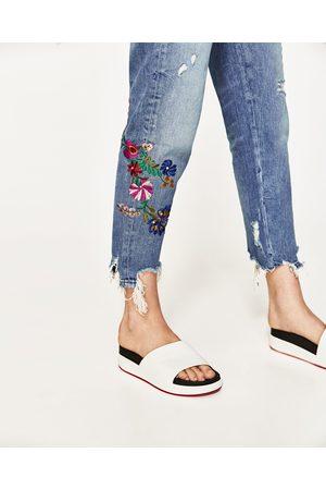 acheter boyfriend jeans pour femme zara en ligne. Black Bedroom Furniture Sets. Home Design Ideas