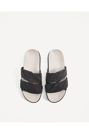 Tongs femme du Zara - comparez et achetez afca9eb96234
