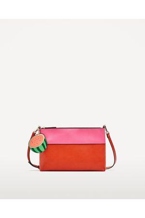 Femme Sacs & Valises - Zara SAC ENVELOPPE BICOLORE AVEC DRAGONNE - Disponible en d'autres coloris