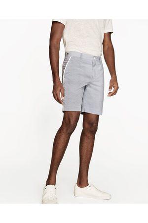 Homme Bermudas - Zara BERMUDA À RAYURES