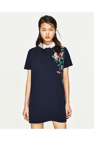 Zara robe femme bleu marine