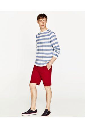 Homme Bermudas - Zara BERMUDA EN COTON - Disponible en d'autres coloris