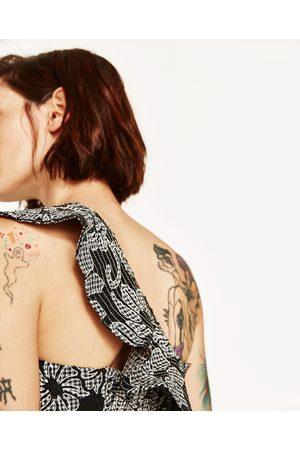 Femme Tops & T-shirts - Zara TOP EN DENTELLE À VOLANTS