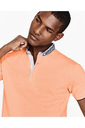 Homme Polos - Zara POLO EN PIQUÉ À COL MAO - Disponible en d'autres coloris