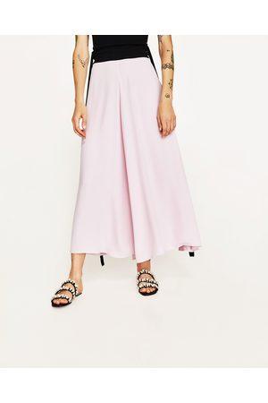 Femme Pantalons larges - Zara PANTALON PALAZZO