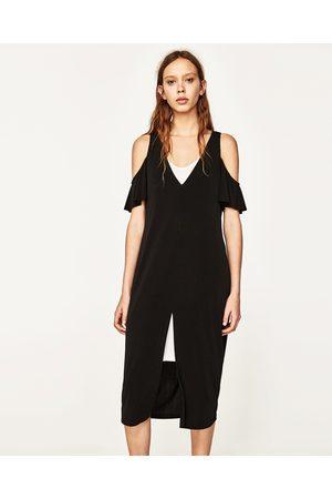 07b97a3b6a6 Robes femme bicolore Zara - comparez et achetez