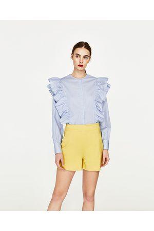 Shorts femme taille Zara - comparez et achetez