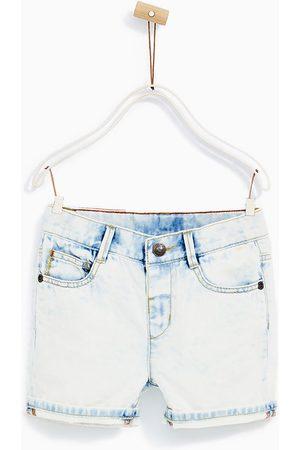 Shorts en jean - Zara BERMUDA EN JEAN BLANCHI