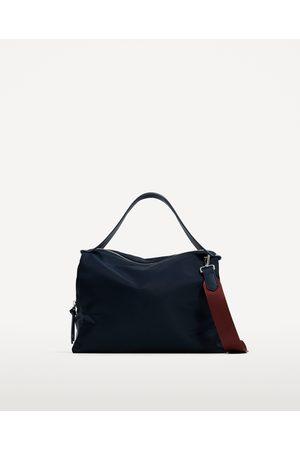 Zara SAC BOWLING AVEC DOUBLURE EN CONTRASTE pekip0d1q