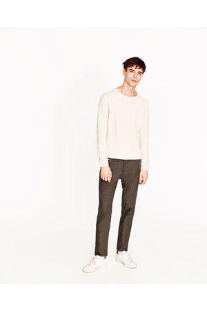 Zara PANTALON STRUCTURÉ SLIM - Disponible en d'autres coloris