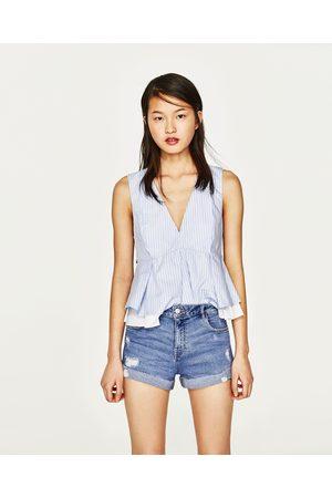 acheter shorts en jean femme zara en ligne comparer acheter. Black Bedroom Furniture Sets. Home Design Ideas