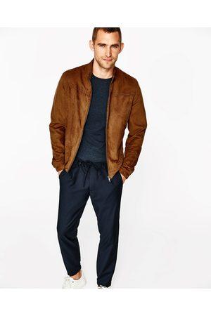 Vestes Comparez Homme Suedine Zara Manteaux Et amp; Achetez Twgq7waO
