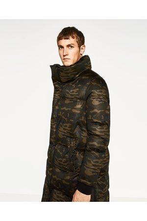 Comparez Comparez Comparez amp; Achetez Manteaux Et Vestes Zara Homme Camouflage qRnwXTaB