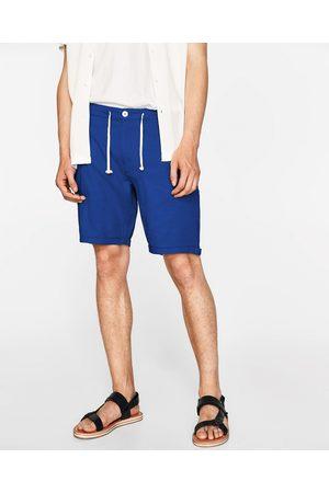 Zara BERMUDA EN COTON - Disponible en d'autres coloris