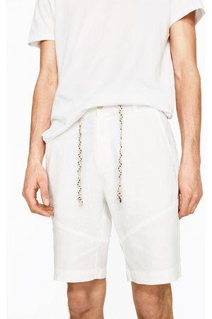 Zara BERMUDA EN LIN - Disponible en d'autres coloris