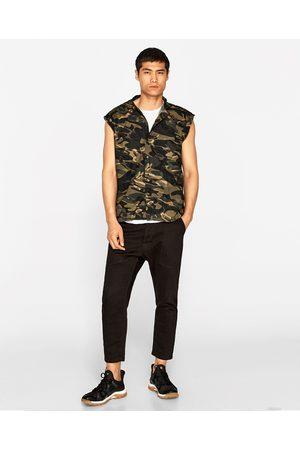 chemises homme camouflage zara comparez et achetez. Black Bedroom Furniture Sets. Home Design Ideas