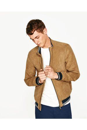 Blouson Zara Vestes Manteaux Suedine Comparez Homme amp; Et Achetez wSCxqTAPW