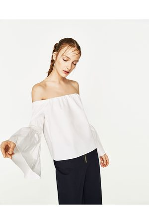 Femme Chemises - Zara TOP À ÉPAULES DÉNUDÉES