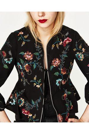 Fleurs Comparez Femme Blousons Zara Achetez Et Tq5x8w