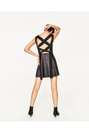 Femme Robes - Zara ROBE EN SIMILI CUIR