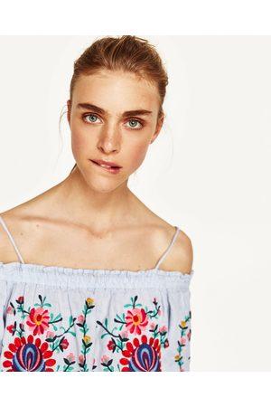 d9a178efd0def Robes femme brodee Zara - comparez et achetez