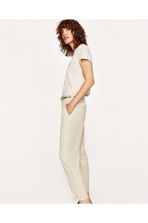 Chinos Femme Disponible Zara Comparez Et Achetez