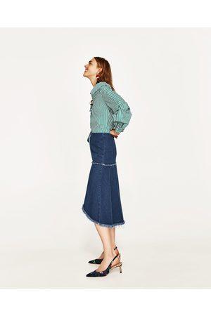 Femme Jupes en jean - Zara JUPE EN JEAN