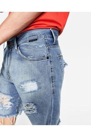 pantalons jeans homme dechire zara comparez et achetez. Black Bedroom Furniture Sets. Home Design Ideas