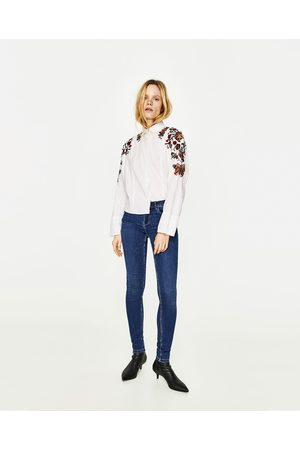 Zara JEGGING BODY CURVE TAILLE BASSE - Disponible en d'autres coloris
