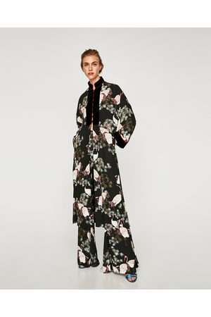 v tements femme long kimono zara comparez et achetez. Black Bedroom Furniture Sets. Home Design Ideas